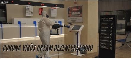 CORONA VİRÜS ORTAM DEZENFEKSİYONU