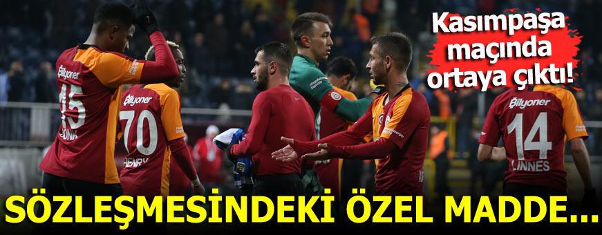 Galatasaray'da Donk'a piyango! Sözleşmesinde özel madde...