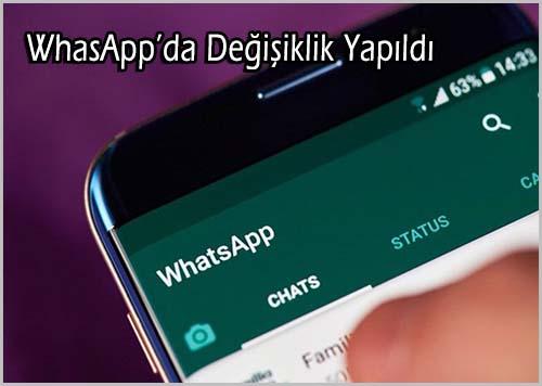 Whatsapp Uygulamasında Artık bir Özellik Kullanılmayacak